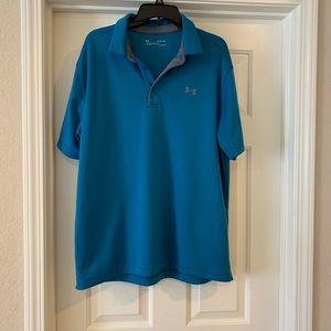 XL Blue Under Armour Polo